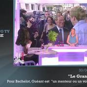 Zapping TV : en Chine, Hollande se prend les pieds dans le rideau...