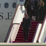 François Hollande est arrivé à Pékin