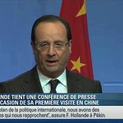 Hollande appelle les investisseurs chinois à venir en France