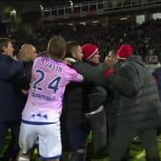 Le match Evian-PSG se termine en bagarre générale