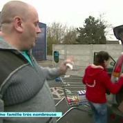 Père de 33 enfants, un Belge fait des courses gigantesques