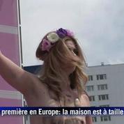 Les Femen s'attaquent à la maison de Barbie à Berlin