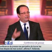Hollande dénonce les politiques d'austérité qui mènent à la récession