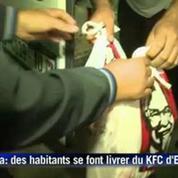A Gaza, les amateurs du fast-food KFC se font livrer clandestinement