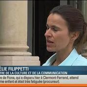 Aurélie Filippetti confirme la suppression de l'Hadopi
