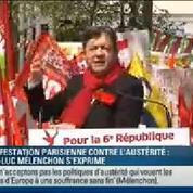 Mélenchon à la Bastille :