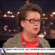 Christine Boutin s'énerve quand on l'interroge sur son mariage