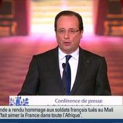 Hollande rappelle le caractère