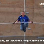 Le funambule Nik Walenda traverse le Grand Canyon sans sécurité