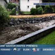 Les images impressionnantes des inondations dans le sud-ouest