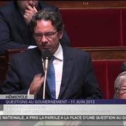 Frédéric Lefebvre applaudi pour son retour à l'Assemblée
