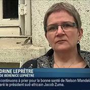 Vive émotion pour la mère de Bérénice Leprêtre