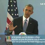 Obama : le mariage homosexuel, une