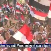Au Caire, grosse manifestation des anti-Morsi