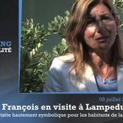 Lampedusa : le Pape