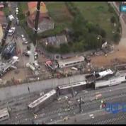 Des images aériennes de la catastrophe ferroviaire