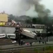 Compostelle : les premières images de l'accident ferroviaire