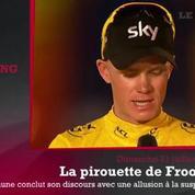 Zap'Sport: Froome et son allusion au dopage
