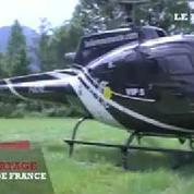Un vol dans l'hélico du Tour de France