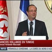 Lapsus : Hollande confond Egypte et Tunisie