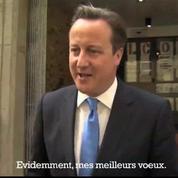 Royal baby : David Cameron adresse ses