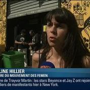 Le QG parisien des Femen incendié