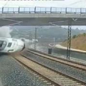 Compostelle : une caméra de surveillance a filmé l'accident