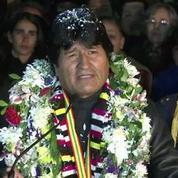 A son retour en Bolivie, Morales a fustigé l'attitude de pays européens