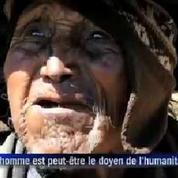 L'homme qui aurait 123 ans, selon les registres officiels de Bolivie