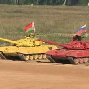 En Russie, le premier biathlon de chars d'assaut
