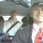 Le premier ministre norvégien joue les chauffeurs de taxi
