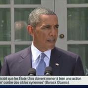 Intervention en Syrie : Obama va demander l'autorisation du Congrès