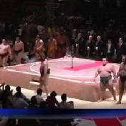 Indonésie : premier concours de sumo depuis cinq ans