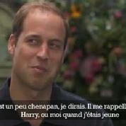 Le prince William :