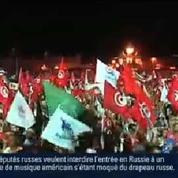 Tunisie : manifestation importante des islamistes en faveur du gouvernement