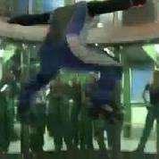À Argenteuil, un simulateur de chute libre offre d'incroyables sensations