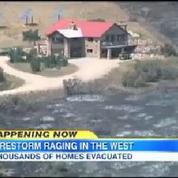Idaho : Des maisons de stars menacées par les incendies