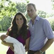Kate et William dévoilent les premières photos officielles de George