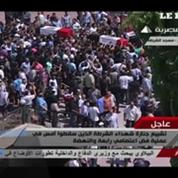 Egypte : le ministre de l'Intérieur assiste aux funérailles des officiers de police