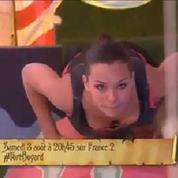 Miss France s'essaie à l'épreuve des cyclindres dans