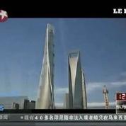 La Tour Shanghai devient le deuxième édifice le plus haut du monde