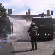 Chili : manifestation pour le 40e anniversaire du coup d'Etat de Pinochet