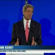 Syrie : en français, John Kerry parle de