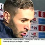 Contre la Géorgie, Karim Benzema s'est trouvé
