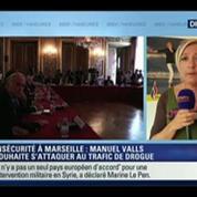 Marseille : Le Pen dénonce