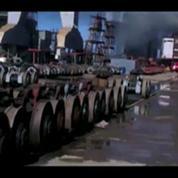 Russie : incendie d'un sous-marin nucléaire en réparation