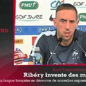 Zap'Sport: Quand Ribéry invente un nouveau mot