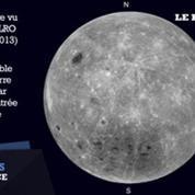 La Nasa filme la face cachée de lune