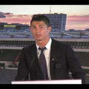 Football : Ronaldo au Real Madrid jusqu'en 2018
