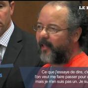 Les images d'Ariel Castro au tribunal